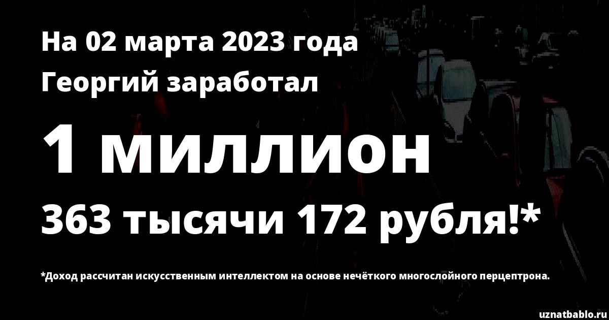 Сколько заработал Георгий Кокорин на Youtube на 22 сентября 2019 года