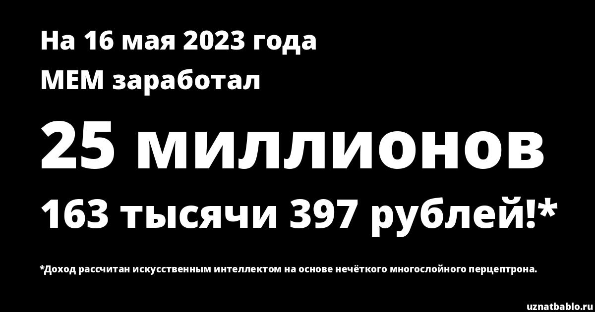 Сколько заработал Mister Epic Mann на Youtube на 17 августа 2018 года