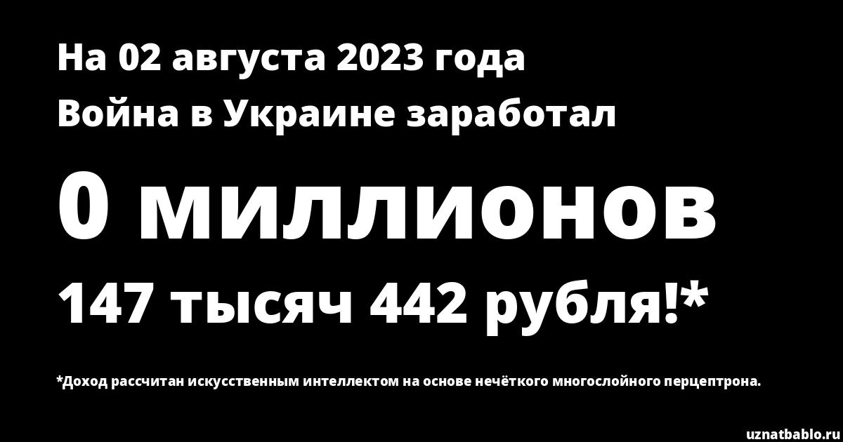 Сколько заработал ARTPODGOTOVKA V 05.11.17 на Youtube на 17 августа 2018 года